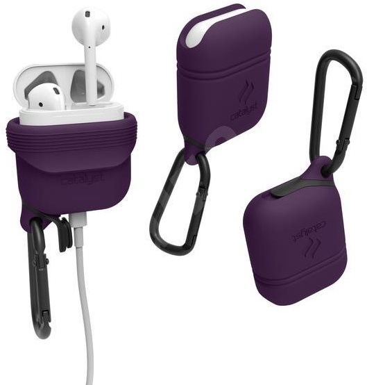 Catalyst Waterproof Case Deep Plum AirPods - Protective Case