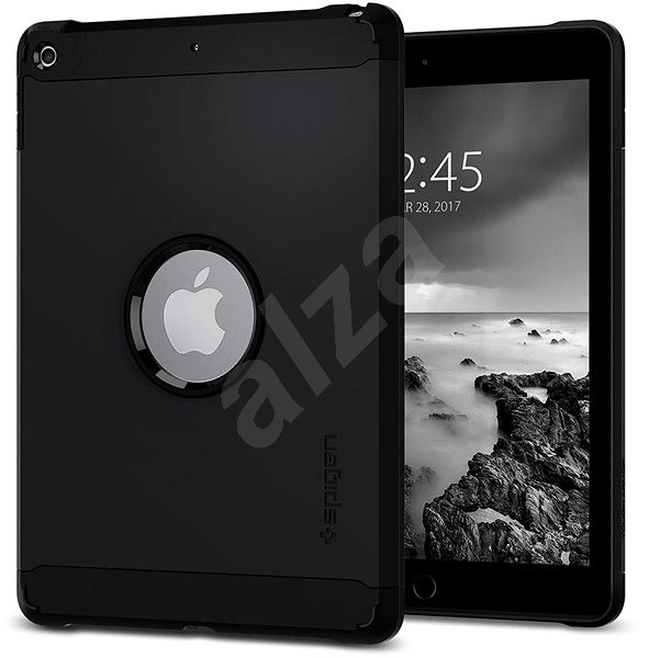"Spigen Tough Armor Black iPad 9.7"" - Protective Case"