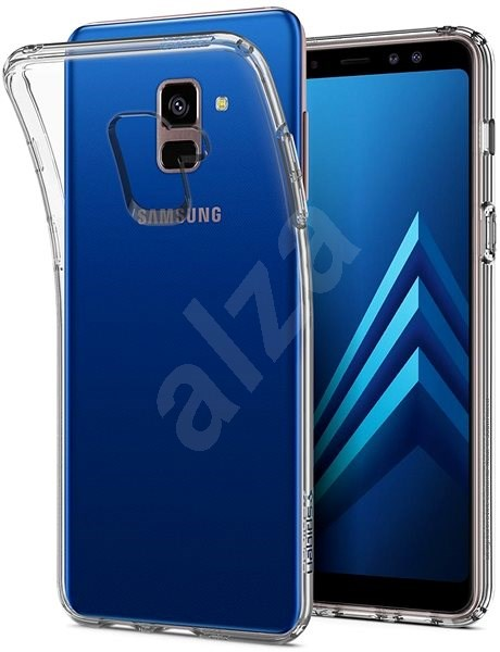 Spigen Liquid Crystal Clear Samsung Galaxy A8 (2018) - Mobile Case