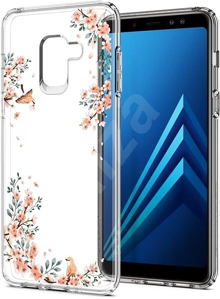 Spigen Liquid Crystal Blossom Nature Samsung Galaxy A8 (2018) - Mobile Case
