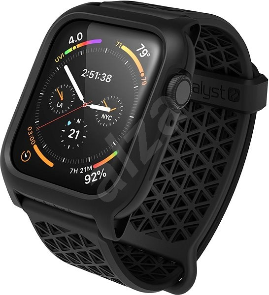 Catalyst Impact Protection Case Black Apple Watch 44mm - Protective Case