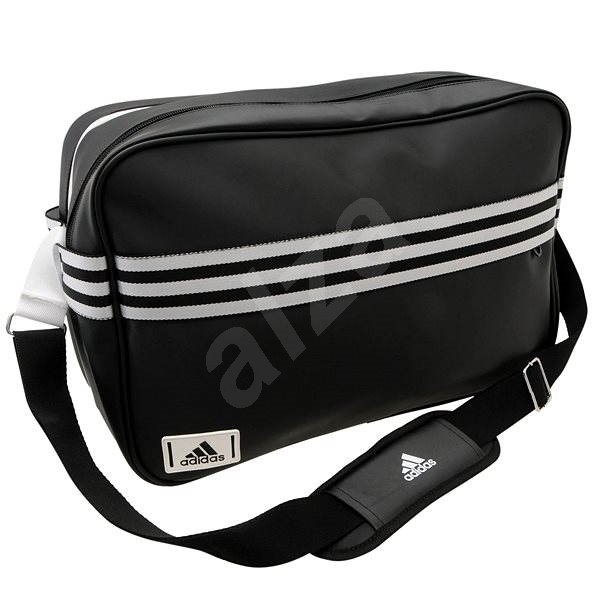 b514e02369 Adidas Messenger Enamel 3-Stripes Black - Shoulder Bag