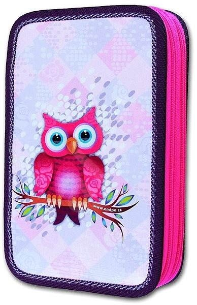 Emipo 2 Layers - Owl - Pencil Case