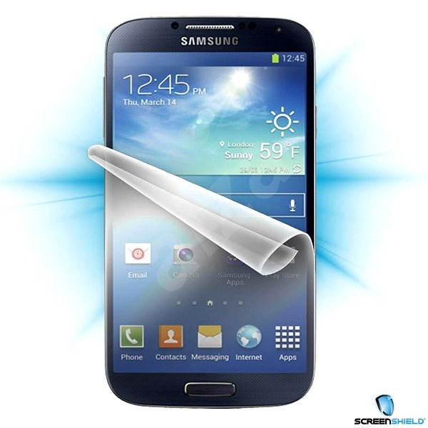 ScreenShield for Samsung Galaxy S4 (i9505) for the phone display - Screen Protector