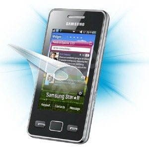 ScreenShield for Samsung Star II (S5260) phone display - Screen protector