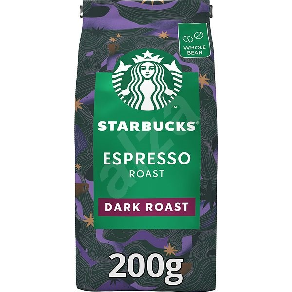 Starbucks Espresso Roast, coffee beans, 200g - Coffee