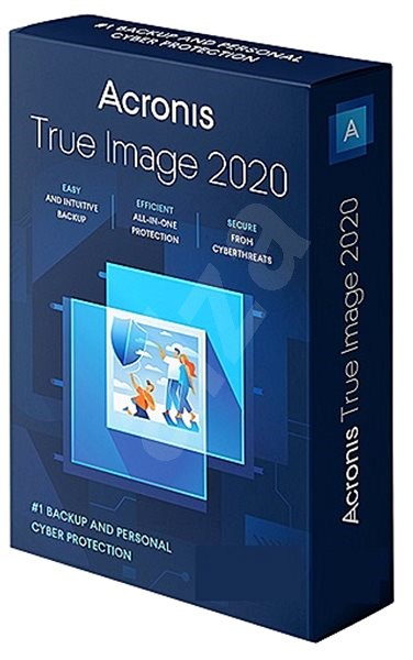 Acronis True Image 2019 Advanced for 5 PCs 1 Year + 250GB Cloud Storage (Electronic License) - Backup Software