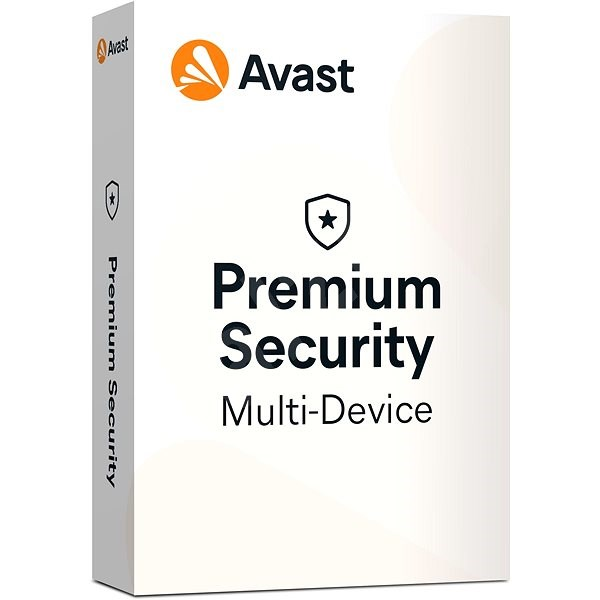 Avast Premium Security Multi-device (up to 10 devices) for 12 Months (Electronic License) - Electronic license