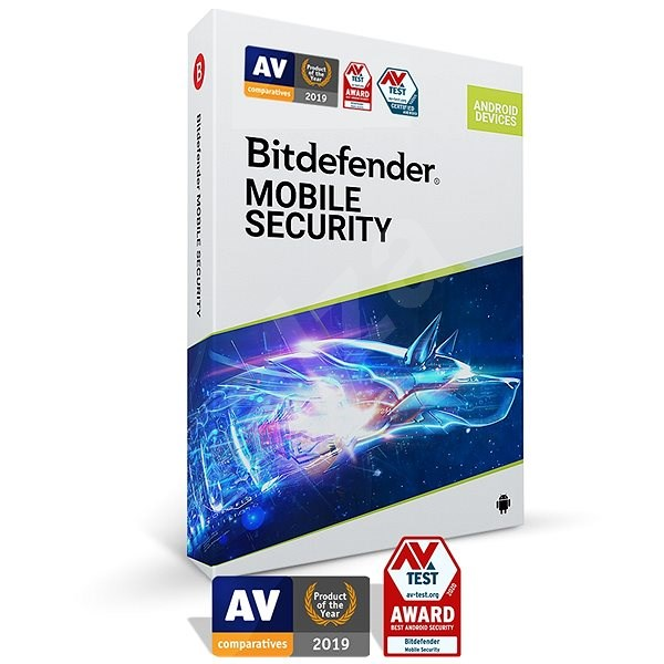 Bitdefender Mobile Security for Android for 1 Device for 1 Year (Electronic License) - Internet Security