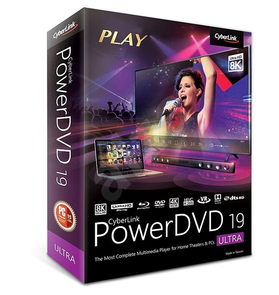 Cyberlink PowerDVD 19 Ultra (electronic license) - Electronic license