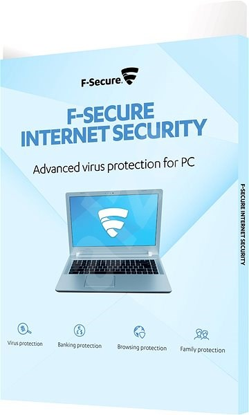 F-Secure INTERNET SECURITY - 3 devices for 2 years (electronic license) - Electronic licenses