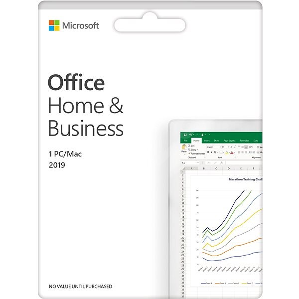 Microsoft Office 2019 Home and Business EN (electronic licence) - Electronic license