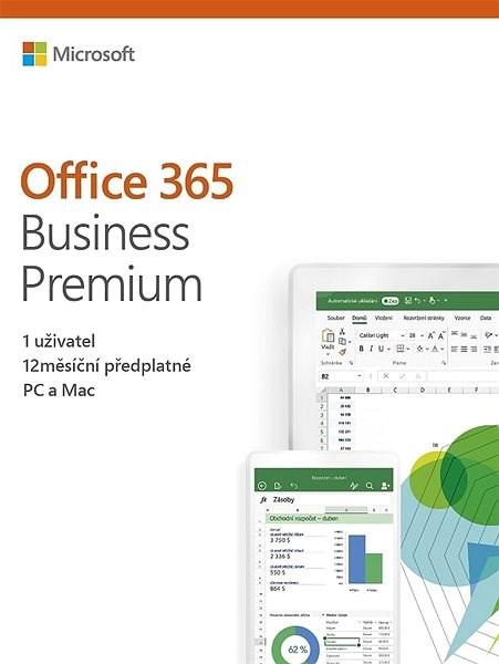 Microsoft Office 365 Business Premium Retail (electronic licence) - Electronic license