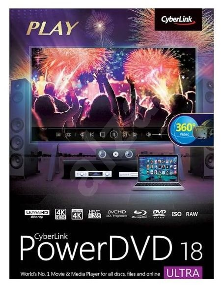 Cyberlink PowerDVD 18 Ultra (Electronic License) - Electronic license