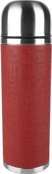 Tefal SENATOR Thermos Flask 1.0l Red Stainless Steel - Thermos