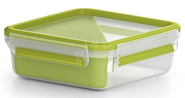 TEFAL MASTERSEAL TO GO square box 0.85L with 1 inner bowl - Container