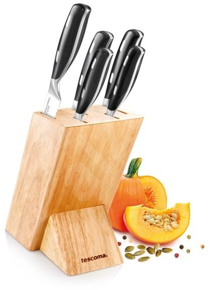 TESCOMA GrandCHEF, Knife Block with 5 Knives - Knife Set