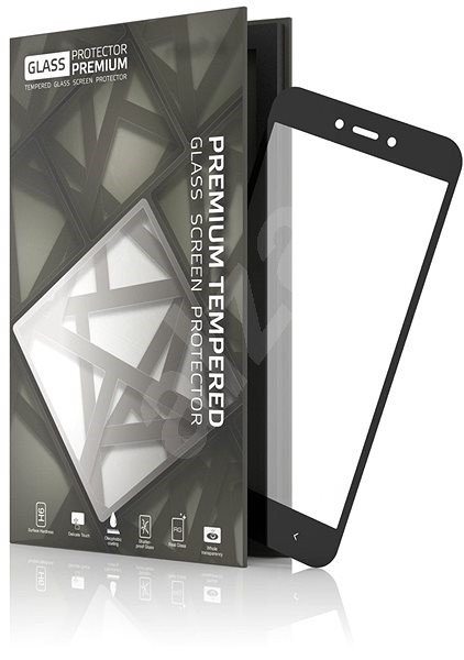 Tempered Glass Protector Frame for Xiaomi Redmi Go Black - Glass protector