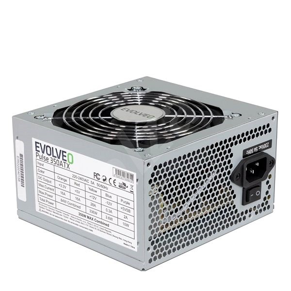 EVOLVEO 350W Pulse - PC Power Supply
