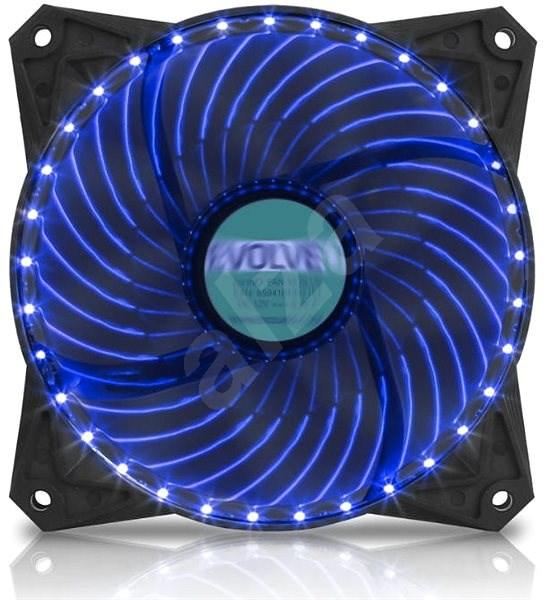 EVOLVEO 12L2BL LED 120mm Blue - PC Fan