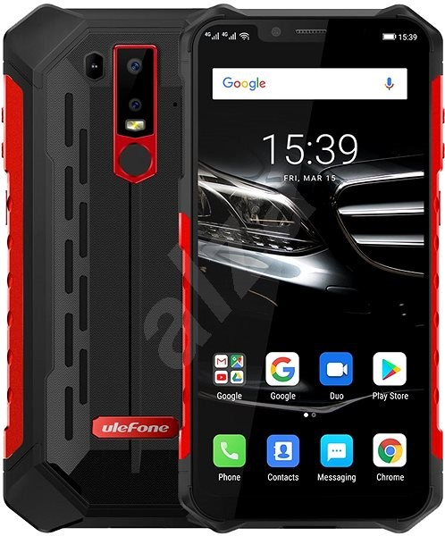 UleFone Armor 6E red - Mobile Phone
