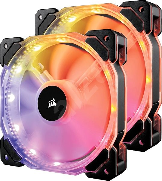 Corsair HD140 2-pack RGB LED - PC Fan