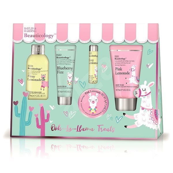 Baylis & Harding Travel Llama Body Care Kit - Cosmetic Gift Set