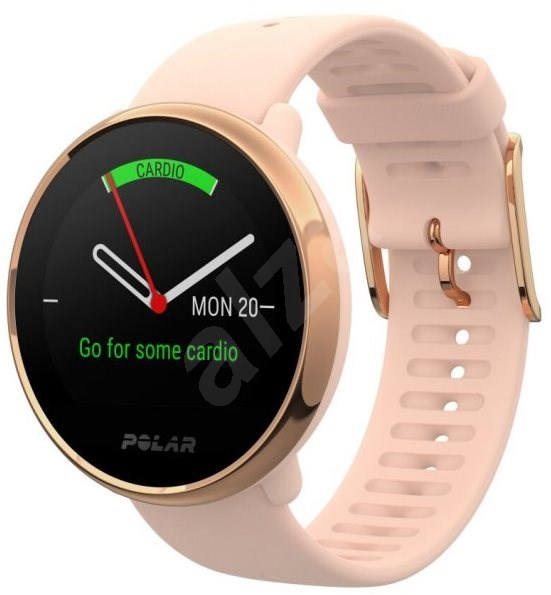 POLAR IGNITE pink-gold, size S - Smartwatch