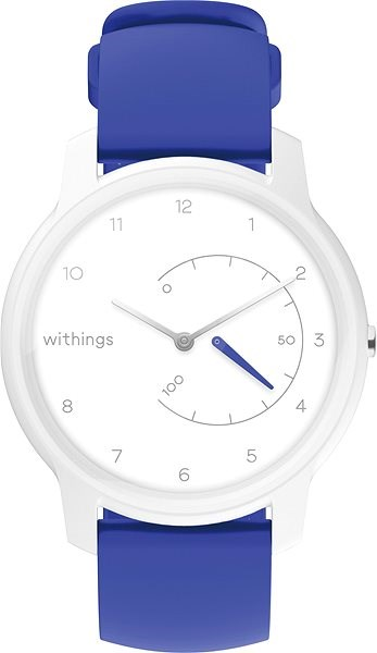 Withings Move - White/Blue - Smartwatch