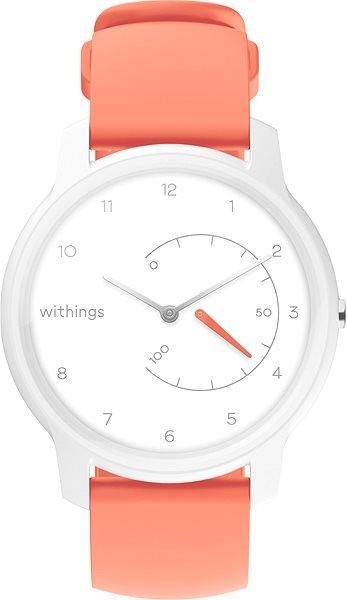 Withings Move - White/Coral - Smartwatch