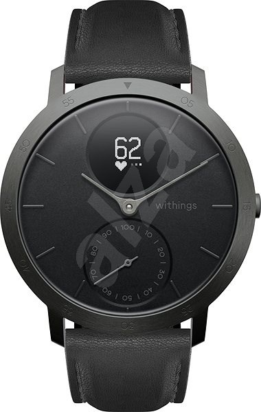 Withings Steel HR (40mm) LIMITED EDITION - Slate Grey/Black - Smartwatch