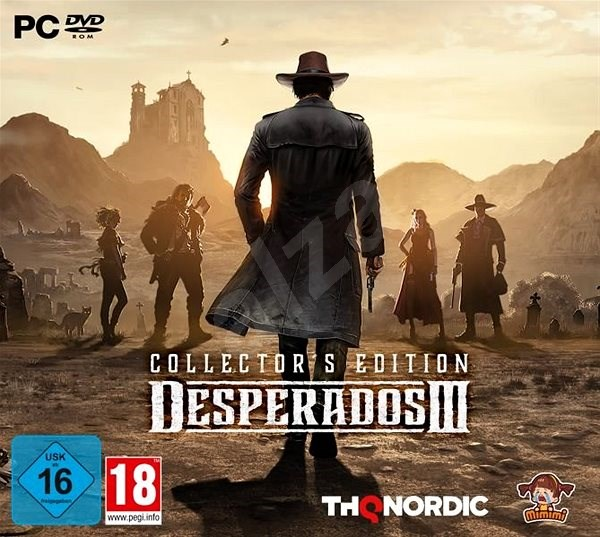 Desperados Iii Collector S Edition Pc Game Alzashop Com