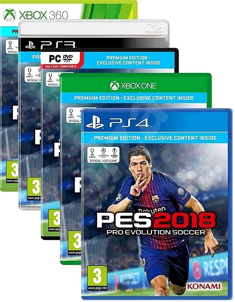 Pro Evolution Soccer 2018 Premium Edition - PC Game