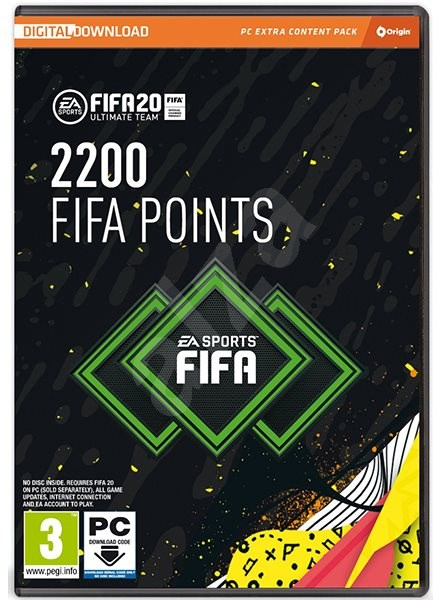 FIFA 20-2200 FUT POINTS - Gaming Accessory
