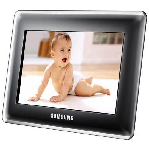 8 Digital Picture Frame Samsung Spf 87h Black 800x480 1gb