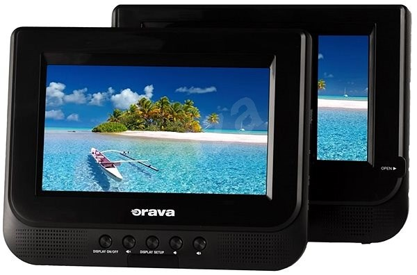"7"" Orava PD-320 A - Portable DVD-Player"