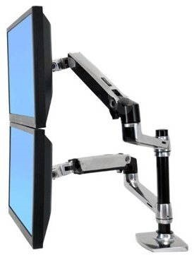 ERGOTRON LX Dual Stacking Arm - Desk Mount
