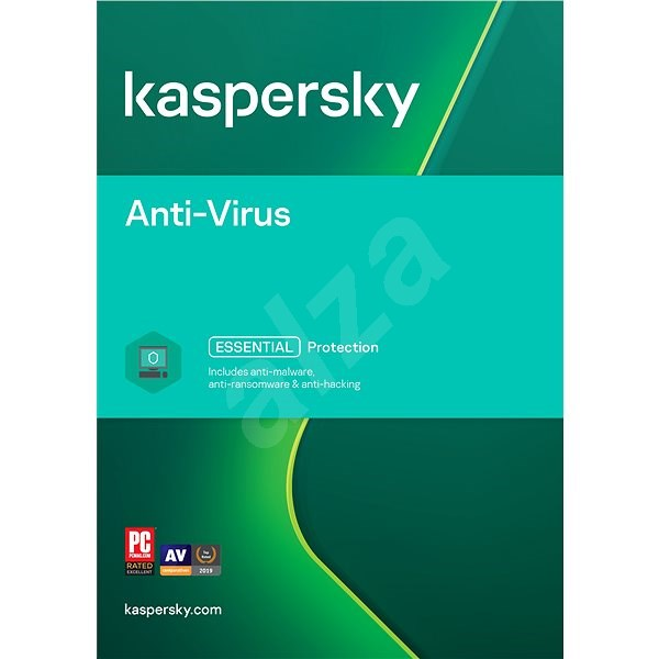 Kaspersky Anti-Virus for 5 PCs for 24 months, license renewal - E-license