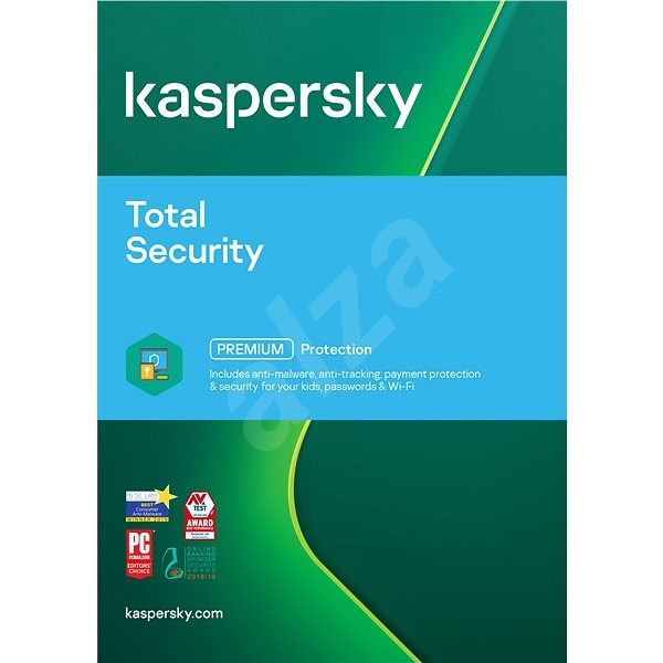 Kaspersky Total Security Multi-Device License Renewal for 3 Devices for 12 Months (electronic licens - Internet Security