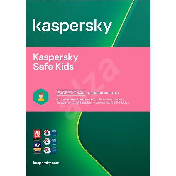 Kaspersky Safe Kids for 1 device for 12 months (electronic license) - Security Software