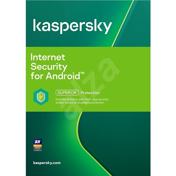Kaspersky Internet Security for Android CZ Recovery for 3 mobiles or tablets for 12 months (electronic - Security Software