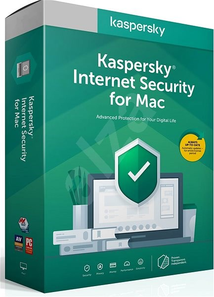 Kaspersky Internet Security Mac Recovery for 3 devices 1 year (electronic license) - Security Software