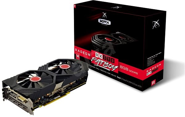 XFX Radeon RX 590 8GB FATBOY - Graphics Card