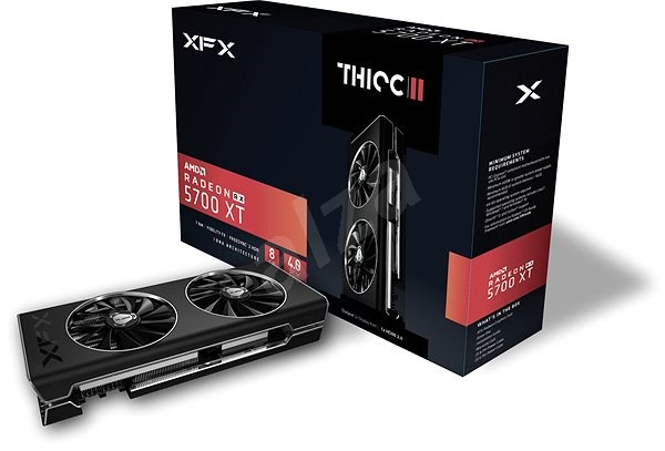 XFX Radeon RX 5700 XT THICC II 8GB - Graphics Card