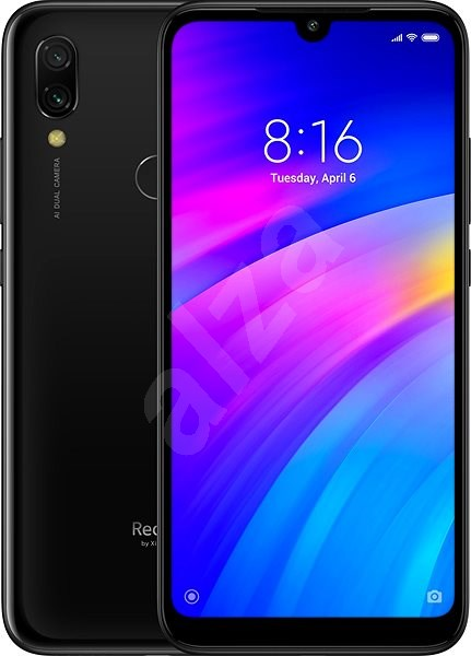 Xiaomi Redmi 7 LTE 16GB Black - Mobile Phone