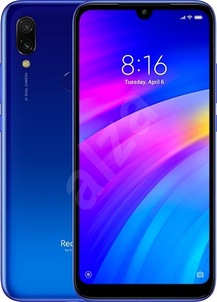 Xiaomi Redmi 7 LTE 32GB blue - Mobile Phone