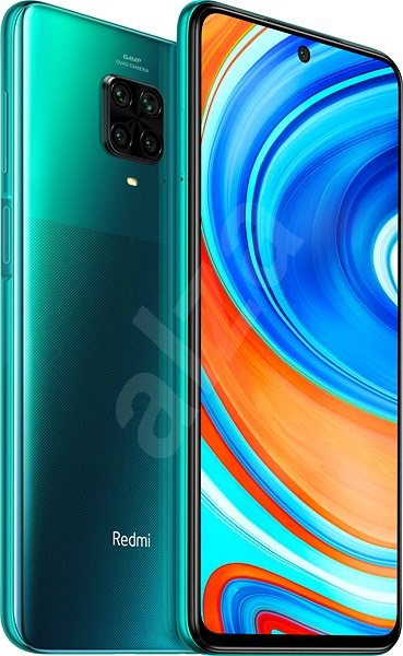 Xiaomi Redmi Note 9 Pro LTE 64GB Green - Mobile Phone | Alzashop.com