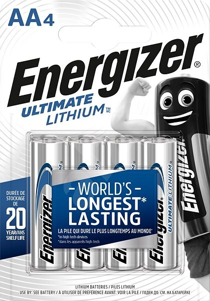 Energizer Ultimate Lithium AA/4 - Disposable batteries