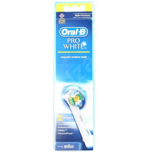 Oral-B extra brushes 3D White 2pcs - Toothbrush Replacement Head