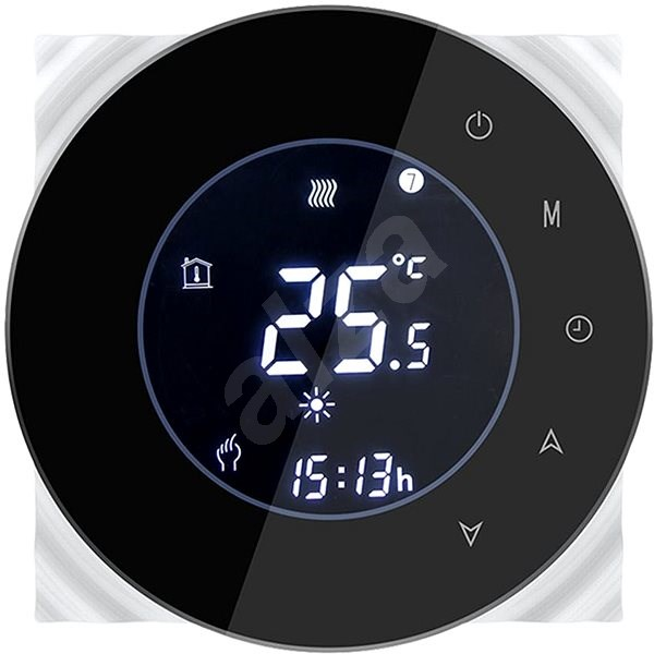 iQtech SmartLife GBLW-W, WiFi Thermostat for Floor Heating, White - Thermostat